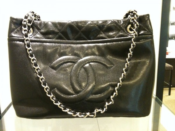 Chanel Black Timeless CC Tote Bag 2010 73788c4d3ccd3